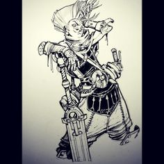 Hey @newmilky. Like this right? #ekko #leagueoflegends #lol #riot #riotgames by ericcanete