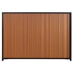mesa 6 ft x 8 ft timber brownblack fence
