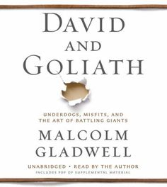 In DAVID AND GOLIATH, Malcolm Gladwell, with his unparalleled ability to grasp connections others miss, uncovers the hidden rules that shape the balance between the weak and the mighty, the powerful and the dispossessed.   Audiobook