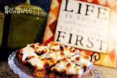 s'mores bars!! quick and easy. http://sewsweettv.blogspot.com/2011/09/smore-goodness.html