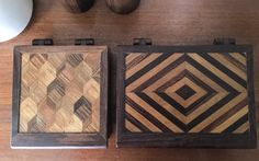 Large Don Shoemaker Box Cocobolo Parquetry by CaribeCasualShop