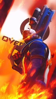 Soldier 76 (Overwatch) by PaintIsPainful.deviantart.com on @DeviantArt
