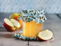 Rezept: Apfel-Rhabarber-Gelee