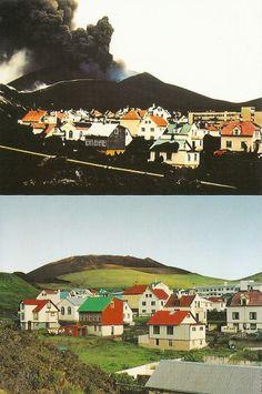 Heimaey - Vestmannaeyjar - Iceland - Carte postale kitsch - Collection personnelle nikedenice (161)