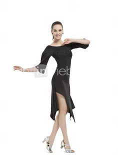 Women's Polyester Latin/Modern Dance Performance Outfit - US$ 26.09