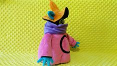 Toy made from drawing.  He man orko, commissioned plush,   he man orko toy heart eyes, Jack O Lantern, halloween