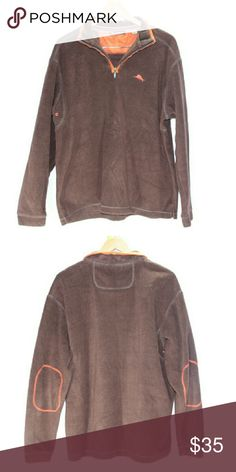 Tommy Bahama Half Zip Fleece Pullover Men's Large Tommy Bahama Half Zip Fleece Pullover Men's Large  excellent used condition Tommy Bahama Sweaters