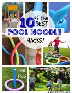 Okay, we all know what a pool noodle is but did you know all of these FUN things you can do with them? I mean this is what Summer is all about right? Having FUN outdoors, getting creative and making memories! It's also a frugal way to entertain your kids! DIY Pool Noodle Sprinkler! This …