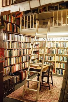 I Ran A Scottish Bookshop And You Can Too--indulge your fantasies of running a bookshop by renting this airbnb property in Scotland. Beautiful Library, Dream Library, Library Books, Future Library, Book Cafe, Book Store Cafe, Home Libraries, Coffee And Books, Book Nooks