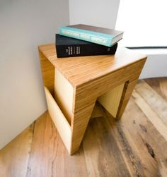 Fancy - Hollow End Table by Brave Space Design