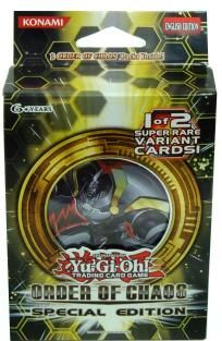 Yu-Gi-Oh! Trading Card Game Order Of Chaos Special Edition *FREE SHIPPING*