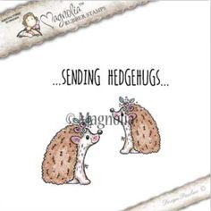 Magnolia Stamps Sunbeam - Hedgehog Kit