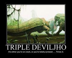 Triple Deviljho by TheMacronian.deviantart.com on @deviantART