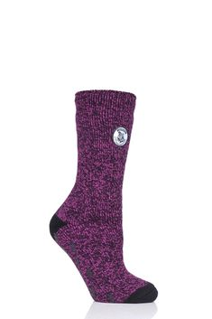Ladies Heat Holders Harry Potter Thermal Socks with Grips from SOCKSHOP Harry Potter Socks, Sock Shop, Half Blood, Lightning Bolt, The Conjuring, Color Mixing, Hogwarts, Cosy, Pairs