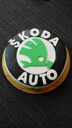 cake,dort,škoda auto Car Cakes For Men, Blueberry, Chocolate, Birthday, Hair, Autos, Day Care, Gifts, Essen