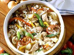 Gemüsereis mit Lamm auf serbische Art (Djuvec) ist ein Rezept mit frischen Zutaten aus der Kategorie Lamm. Probieren Sie dieses und weitere Rezepte von EAT SMARTER!