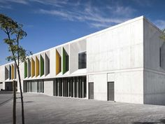 BEST EDUCATIONAL ARCHITECTURE: Braamcamp Freire, a secondary school in Lisbon, Portugal.