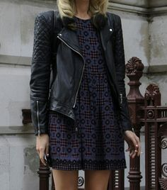 wear leather whatever the weather this spring // shop effinshop.com for spring looks