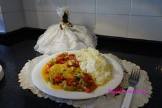 Moqueca de peixe English Food, Grains, Rice, Pisces, Brazilian Cuisine, Seeds, Korn