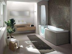 Vasche doccia combinate - Combinati 384 di Teuco