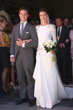 Wedding gown Roberto Diz. (Mercedes Peralta)