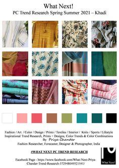 #Khadi #khadifabric #khaddar #handspun #naturalfiber #cotton #handspun #organicfabric #SS2021 #WhatNextPCTrendResearch #PriyaChanderDesigns #FashionForecastByPriyaChander #ColorTrendsByPriyaChander #fashionconsultant #fashiondesigner #springsummer2021 #fashionforecaster #fabricprints #interiordecor #fashionforecastspringsummer2021 #interiors #homedecor #InteriordesignTrends #knitwear #hautecouture #fashionweekSS2021 #colortrendsSS2021 #fashionforecast #fashion #art #design #fashionresearch… Color Trends, Design Trends, Spring Color Palette, Fashion Forecasting, Spring Fashion Trends, Fashion Fabric, Color Card, Leather Material, Colorful Fashion