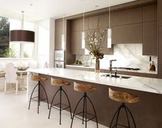I think I need these barstools from Arteriors Home for our bar!