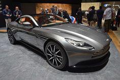 【ジュネーブ・モーターショー】アストンマーティン、V12ツインターボを搭載した新型車「DB11」を公開