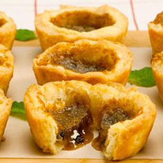 Best Butter Tarts—Whether runny or firm, with raisins or nuts, butter tarts are treats that never go out of style. Because any sugar filling that overflows the pastry hardens quickly and sticks to the pan, be sure to remove the tarts as directed. Or count on family members to hang around the kitchen waiting to eat the tarts that stick and break.