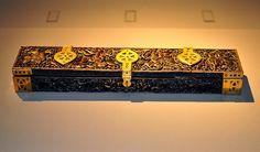 Penbox    Spain 10th Century. Beautiful artwork. Made of Ivory, Brass.