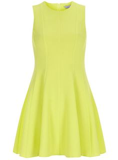 Bold & Bright! The Petite Lime Crepe Dress from Dorothy Perkins will brighten up anyone's day this Spring. £35.00