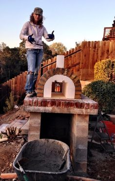 Lyford Wood Fired Brick Pizza Oven in California - BrickWood Ovens