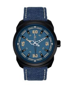 Buy Fastrack Quartz Blue Dial Mens online in India at best price. Stylish Watches, Watches For Men, Wrist Watches, Men's Watches, Blue Band, Watches Online, Casio Watch, Omega Watch, Belt