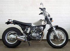 Bare metal Suzuki VanVan custom