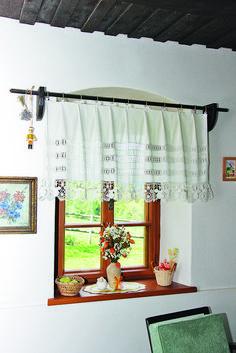 Záclonky a závěsy oknům sluší   Chatař & Chalupář