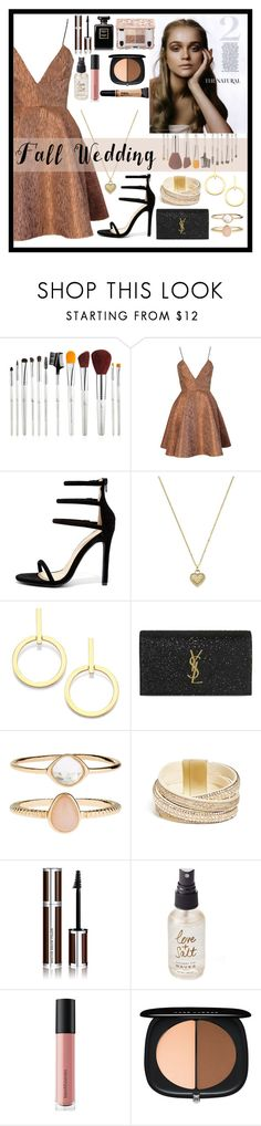 """""""Fall Wedding"""" by sarelle-20 ❤ liked on Polyvore featuring Joana Almagro, Liliana, Michael Kors, Vita Fede, Yves Saint Laurent, Accessorize, GUESS, Givenchy, Olivine and Bare Escentuals"""