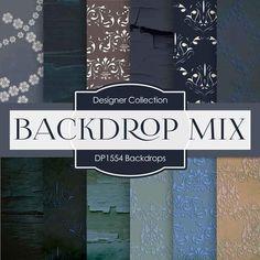 Backdrops Digital Paper DP1554 - Digital Paper Shop - 1