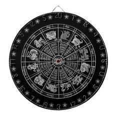 Chinese Zodiac Wheel Custom Dartboard #awesome #horoscope #wow