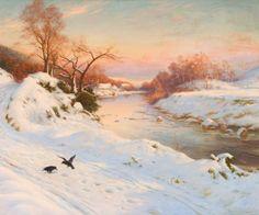 Joseph Farquharson Landscape