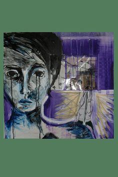 Purple Moods by AeysheaJones on Etsy, $290.00