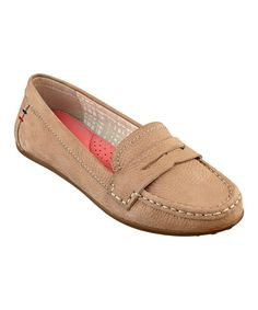 Another great find on #zulily! Desert Leather Taciel Loafer #zulilyfinds