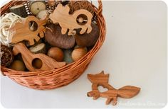 How to Make Wooden Teethers, Rattles, Simple Toys