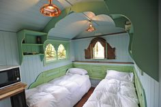 Shepherd Hut interior