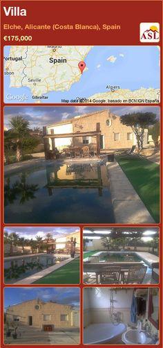 Villa in Elche, Alicante (Costa Blanca), Spain ►€175,000 #PropertyForSaleInSpain