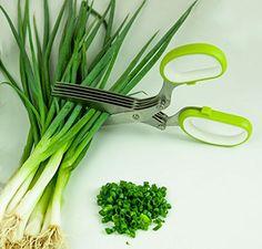 LiviMate Stainless Steel Five-Blade Herb Scissors (Green) LiviMate http://www.amazon.com/dp/B00L12U75E/ref=cm_sw_r_pi_dp_eChJub15T1KB8