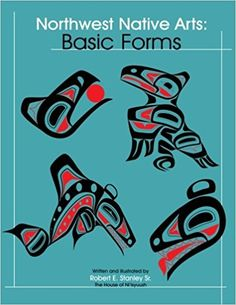 This is a 64 page instructional drawing book for Northwest Coast Native Art by Robert E. This book is a must for anyone interested in Northwest Coast Indian Art Design. Haida Kunst, Arte Haida, Haida Art, Arte Inuit, Inuit Art, Native Art, Native American Art, American History, History For Kids