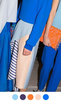 Brights with muted ROKSANDA ILINCIC, F/W 2014 via OPENING CEREMONY