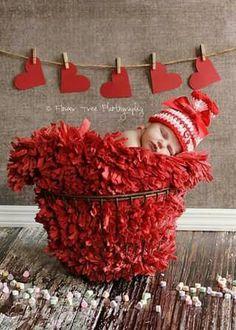 Valentine's Newborn Session