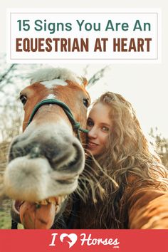 "You know you were born to be an equestrian when you can say ""Yes!"" to every point made on this list. How many of these signs can you relate to? 