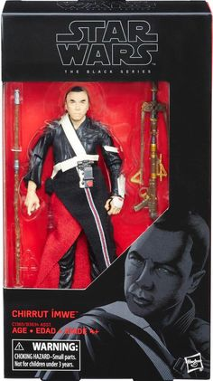 Star Wars Rogue One The Black Series Chirrut Imwe Action Figure Star Wars Toys, Star Wars Art, Star Troopers, Grand Admiral Thrawn, Cara Dune, Knights Of Ren, Big Battle, Star Wars Action Figures, Star Wars Collection